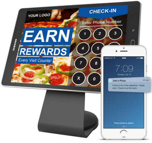 Digital Rewards Kiosk